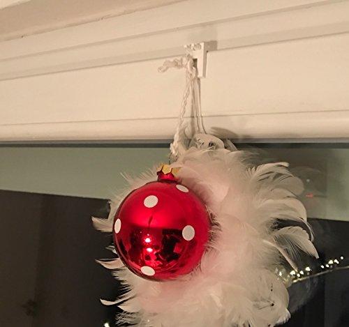 cg-sonnenschutz Klemmträger 15 für Lichterkette Weihnachtsstern Fensterschmuck ohne bohren