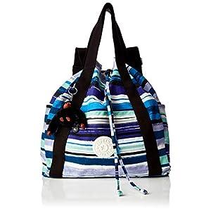 Kipling – Art Backpack M, Mochilas Mujer, Gris (Active Grey Bl)