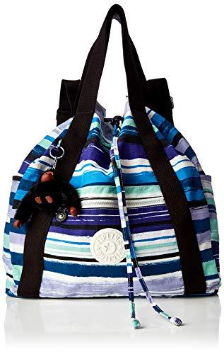 Kipling Art Backpack M - Zaini Donna, Multicolore (Joyfull Stripes)