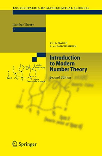 Introduction to Modern Number Theory: Fundamental Problems, Ideas and Theories (Encyclopaedia of Mathematical Sciences Book 49) (English Edition)
