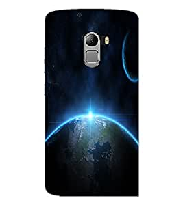 PrintDhaba Earth D-2286 Back Case Cover for LENOVO VIBE X3 c78 (Multi-Coloured)
