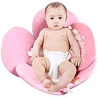 Baby Badewanne Für Jungen Mädchen Faltbare Weiche Blume Blütenblatt Form Badewanne Pad Unterstützung Kissen Matte Babypflege