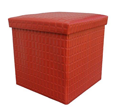 double-and-single-acolchado-plegable-banco-de-rwe-bestdeal-baul-de-almacenaje-rojo-single36x36x38