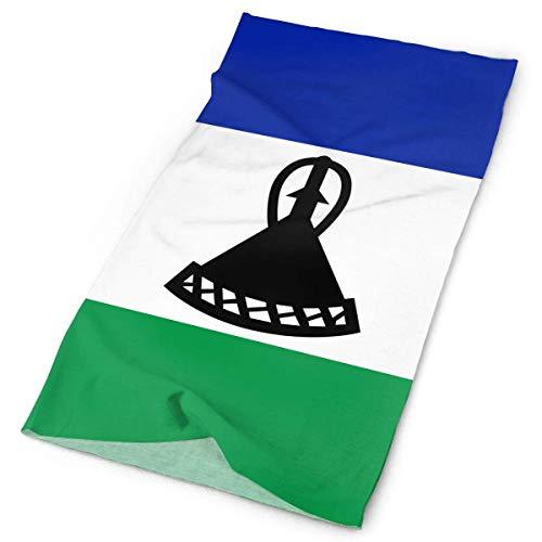 Qinckon Lesotho Flagge Stirnband Männer Frauen Headwrap Magic Kopftuch Bandana Headwear Halstuch Multifunktions (Männer Für Hippie-stirnbänder)