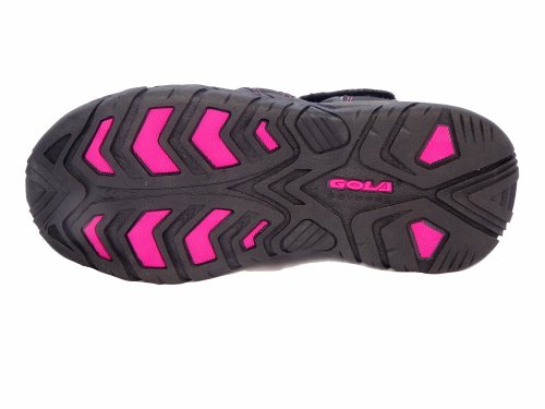 Gola , Damen Sport- & Outdoor Sandalen Nero/Grigio