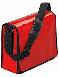HALFAR - sac sacoche bandoulière porte documents 1802814 - rouge - mixte homme / femme
