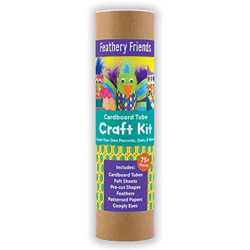 Feathery Friends Cardboard Tube Craft Kit