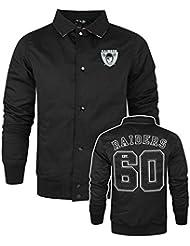 Hombres - New Era - Oakland Raiders - Chaqueta