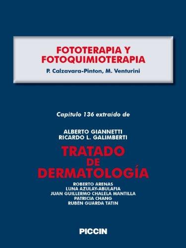 Capítulo 136 extraído de Tratado de Dermatología - FOTOTERAPIA Y FOTOQUIMIOTERAPIA por A.Giannetti