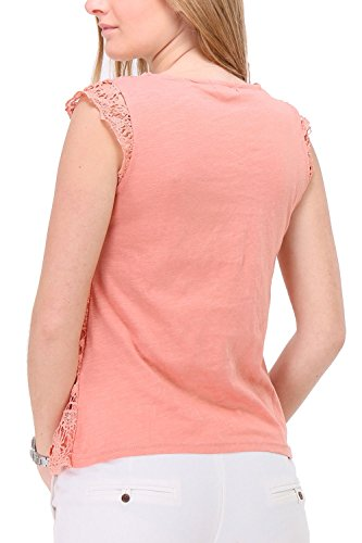 Zelia Damen T-Shirt Orange