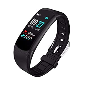 OPAKY Pulsera de Actividad Reloj Inteligente Smart Watch Deportes Fitness Actividad Monitor de Ritmo cardíaco Presión Arterial Calorías Actividad Pulsera Mujer Hombre Reloj Fitness Podómetro 2