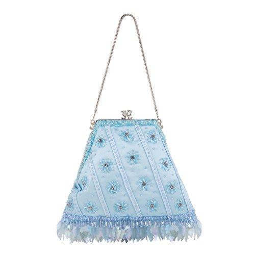 Farfalla - 90433, Pochette Donna Blu (blu)