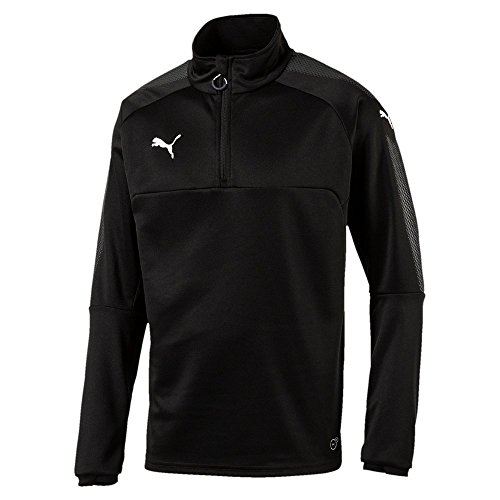 Puma Herren Ascension 1/4 Zip Training Top Sweatshirt, Black, XL -