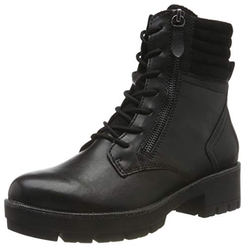 Tamaris Damen 1-1-25281-23 Biker Boots, Schwarz (Black 1), 40 EU