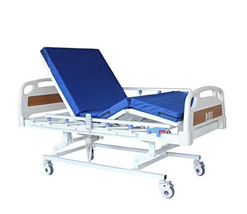Multi-Funktionen 3 Edelstahl-Klapp-Kurbeln Medical Care Krankenhausbett Für Patienten, Billige Tragbare Elektrische Pflegebett -