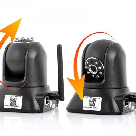 EasyN f3-m187Wired/Wireless Netzwerk IP Kamera und Baby Monitor Webcam (Eingebauter IR-Filter, P2P Funktion, View auf Ihr IOS oder Android Geräte sofort)