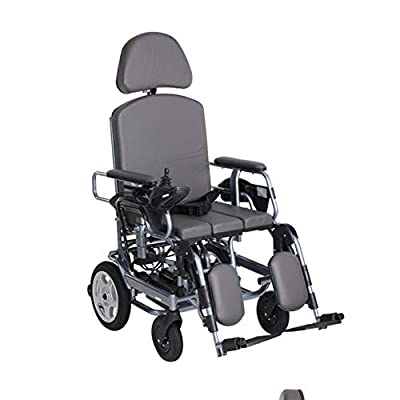ENVIGF Compact Power Chair, Ultra Portable Electric Folding Mobility Aid,360° Joystick With Weigt 99 Lbs, Weight Capacity 220 Lbs,Motorized Wheelchairs Convenient For Home And Outdoor Use