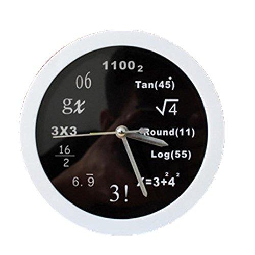 Quando le equazioni matematiche orologio orologio desktop creativo