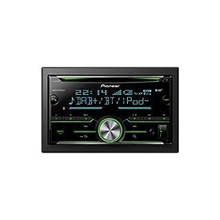 Pioneer FH-X840DAB 2DIN CD-Autoradio mit Bluetooth Freisprecheinrichtung |Front AUX & USB Anschluss | RDS | Mixtrax | Spotify | Digital Autoradio DAB+ | Apple & Android kompatibel