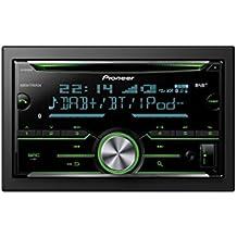 Pioneer FH-X840DAB Bluetooth Black car media receiver - car media receivers (AM,DAB,DAB+,FM, 1.5 lines, LCD, 210000 colours, Black,