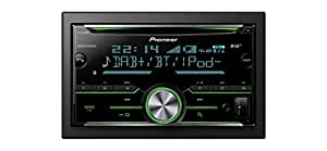 pioneer fh x840dab next generation cd tuner with bluetooth. Black Bedroom Furniture Sets. Home Design Ideas