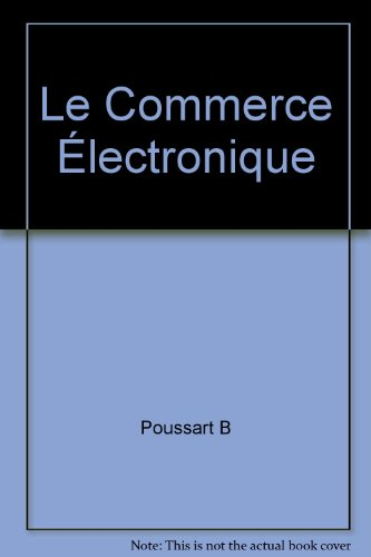Le Commerce Électronique