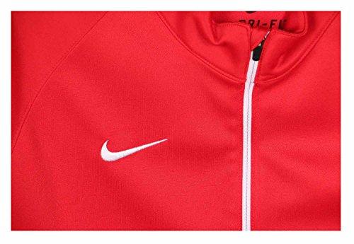 Nike da donna a maniche corte Stock Victory Shoot-Shirt Multicolore - Tm Scarlet/Tm White