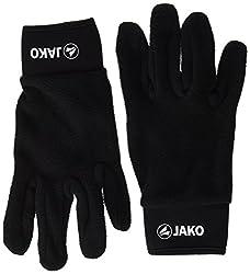 Jako Men's Field Player Gloves, Black, 6, 2505-08