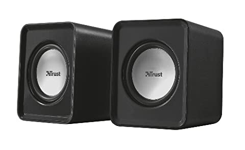 Trust Leto 2.0 Compact PC Speakers for Computer and Laptop, 6 W, USB Powered