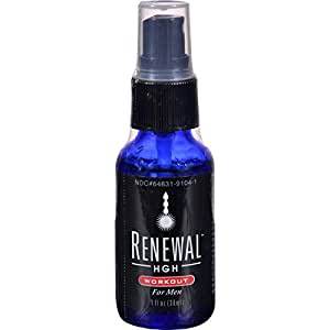 BHE/UNFI Always Young Renewal Hgh Spray - Workout For Men - 1 Fl Oz