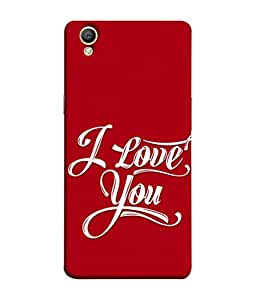 PrintVisa Designer Back Case Cover for Oppo A37 (simple effective attractive appealing red)