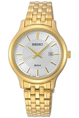 Seiko neo classic orologio Donna Analogico Al quarzo con cinturino in Acciaio INOX placcato SUR646P1