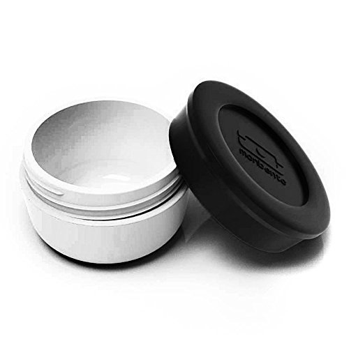 Black 2.5 Ounce Sauce Cup by monbento (Mb Temple)