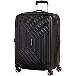 American Tourister - Air Force 1 Spinner 66/28 Extensible 69/81L - 3.6 KG, Noir (Galaxy Black)