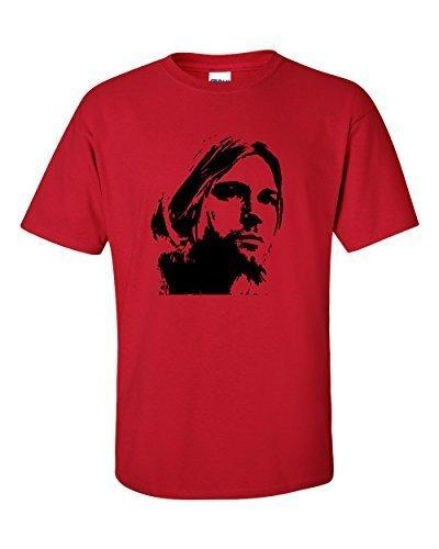 Kurt Cobain Nirvana T-Shirt Kirschrot
