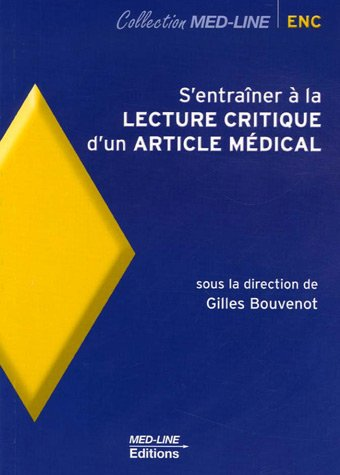 S'entraner  la lecture critique d'un article mdical