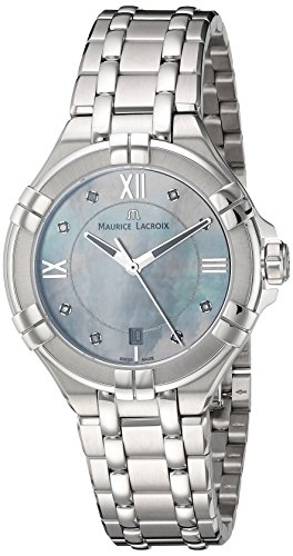 maurice-lacroix-womens-aikon-quartz-stainless-steel-casual-watch-colorsilver-toned-model-ai1006-ss00