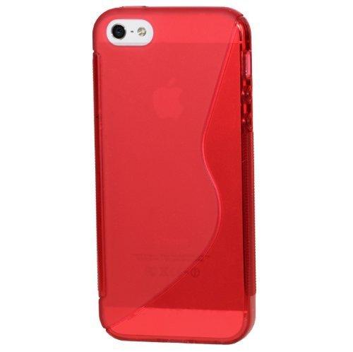 Monkey Cases® iPhone 4/4s - Custodia in Silicone - S Line - rosso - Portacellulare - ORIGINALE - NUOVO