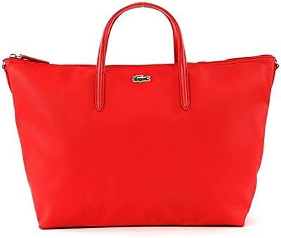 LACOSTE L.12.12 Concept SStrap L Shopping Bag High Risk Red