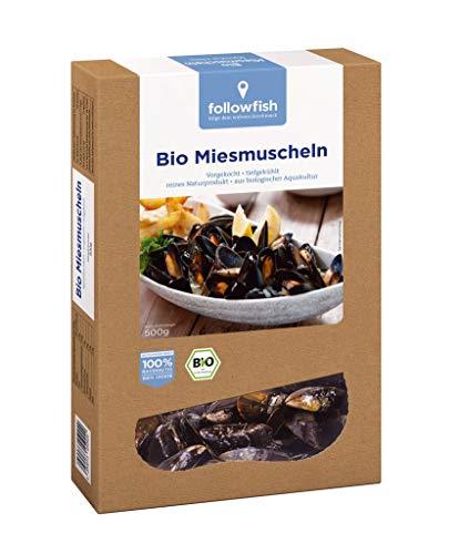 Followfish - Bio-Miesmuscheln TK - 500g