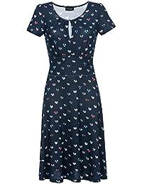 Vive Maria French Girl Dress Kleid marine Allover-Print