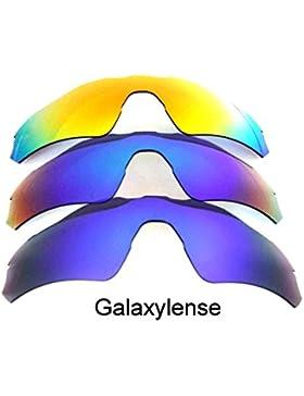 Galaxia Lentes De Repuesto Para Oakley Radar EV Path azul, verde y Rojo Polarizado 3 Par - Estándar, regular