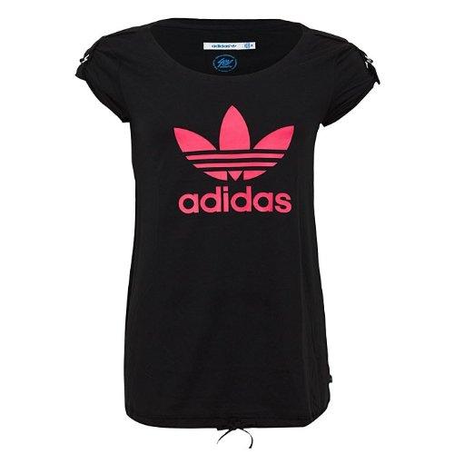 adidas - Maglia sportiva -  donna Rosa nero S