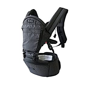 HIPSTER™ Plus 3D Baby Carrier - Charcoal Grey   4