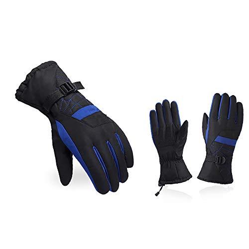 Handschuhe, Herren Frühling Und Herbst Winter Handschuhe, Ski Outdoor-Sport Warme Handschuhe, Wasserdicht Und Atmungsaktiv Gürtel Einstellbar Handgelenk Winddicht Warme Handschuhe, Länge ()