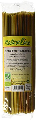 Spaghetti tricolores NATURALINE, 500g