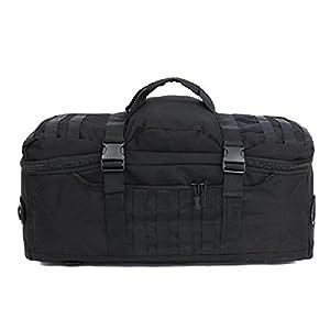 Bagage de plein air sac à extérieur en nylon Sac tactique militaire Sac à main de grande capacité Sac à dos pour voyage camping et sports multifonctionnel pour hommes 60L