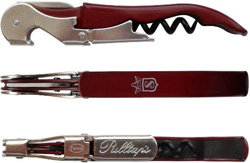 Korkenzieher Kellnermesser Pulltaps Basic Line Bordeaux