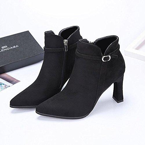 Chaussures automne Elara noires femme pIAumA2x