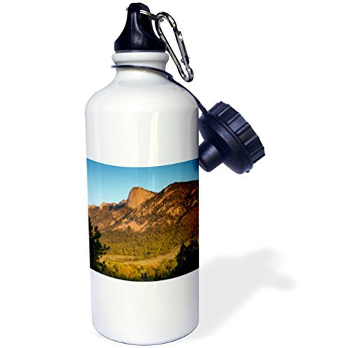 Gift, Tooth Of Time Philmont Scout Ranch Cimarron New Mexico White Stainless Steel Water Bottle for Women Men 21oz ()